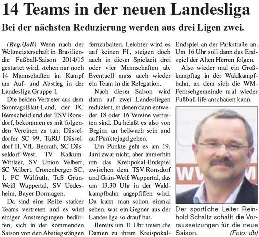 Presse 15.06.2014