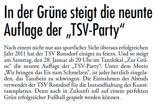 TSV Party Vol.09