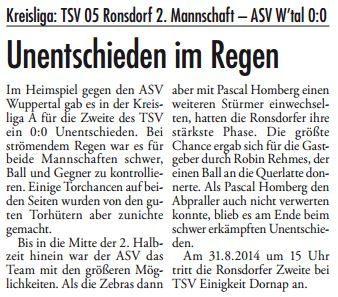 Presse 27.08.2014