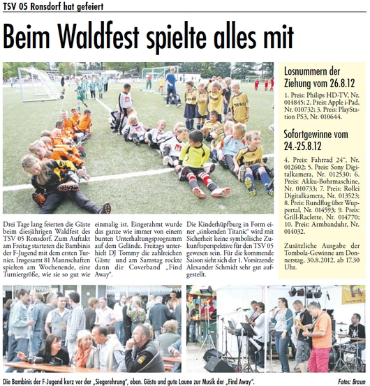 Presse 29.08.2012