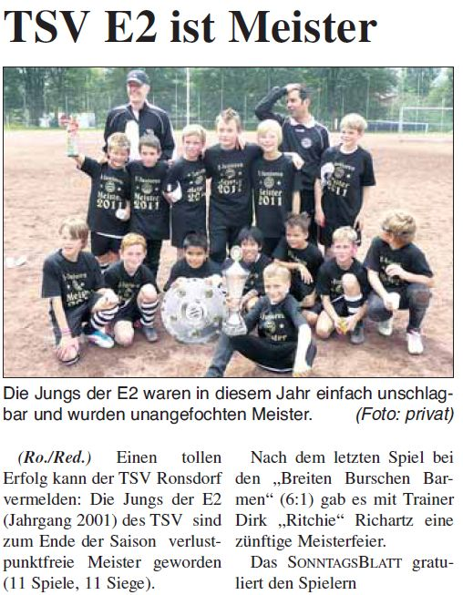 Presse 31.07.2011
