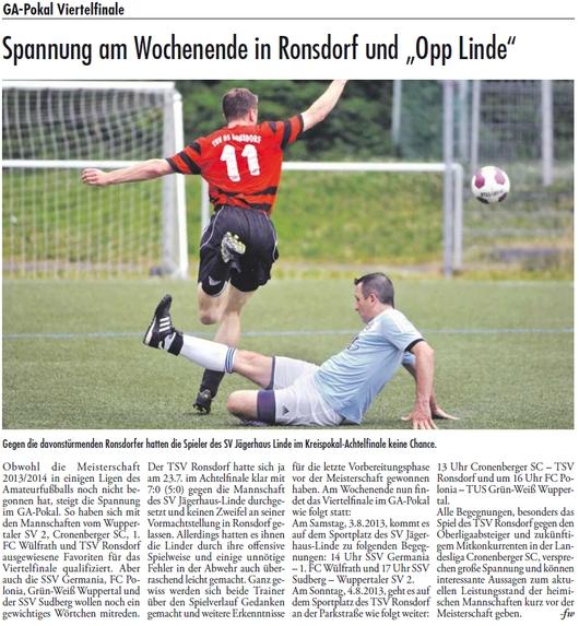 Presse 31.07.2013
