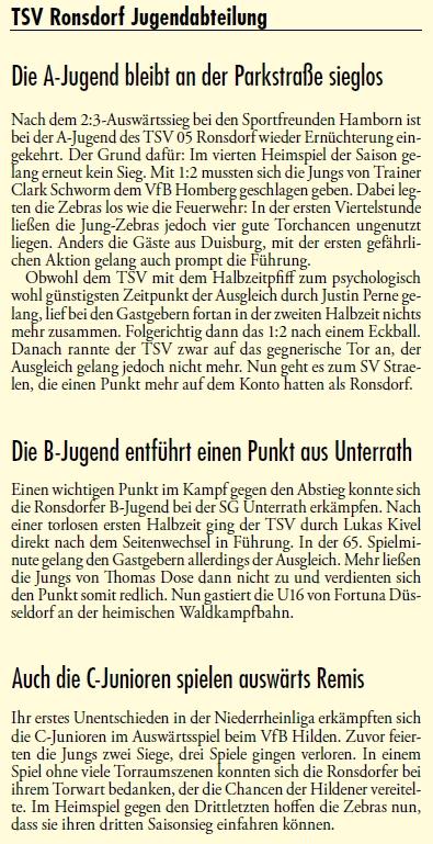 Presse 31.10.2012